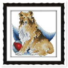 Shepherd DMC Counted Cross -Stitch DIY Needlewook 11CT 14CT for Home Decoration Knitting Needles Diamond Painting Kit Diy
