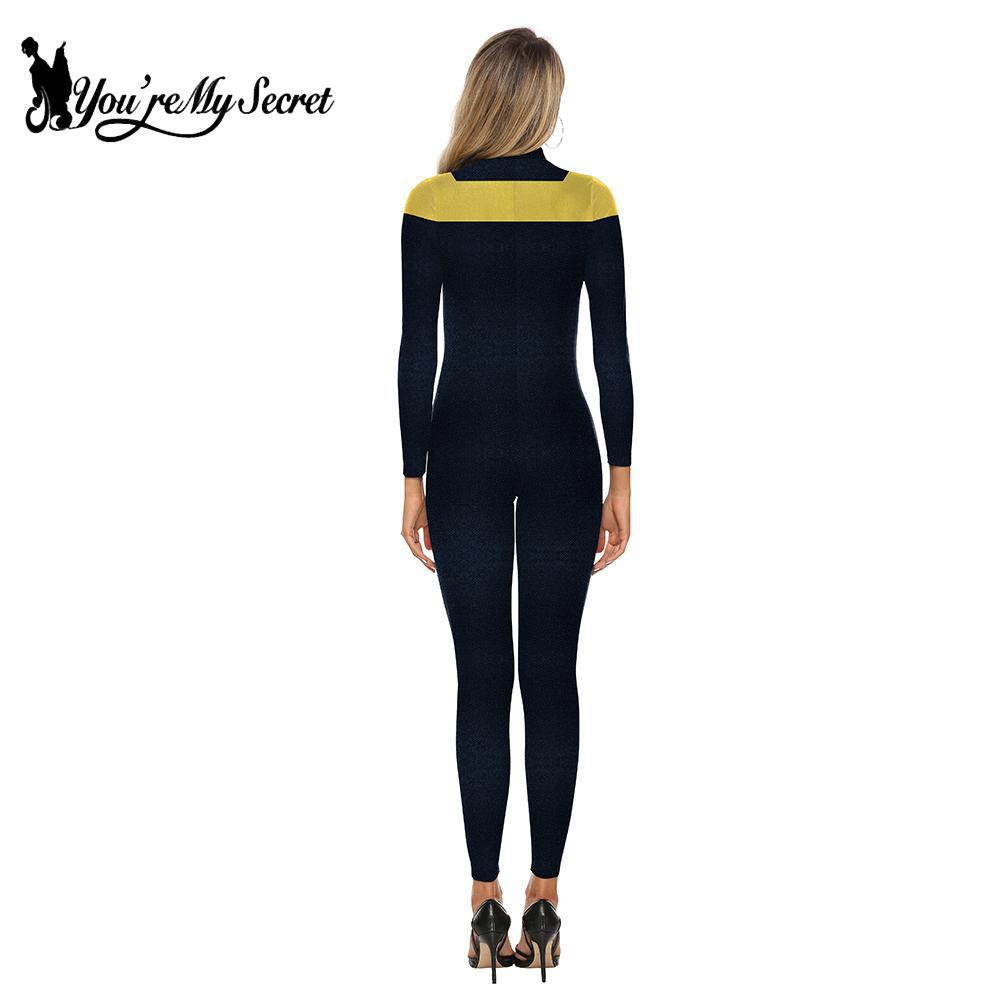 You 39 re My Secret Movie X men Series Dark Phoenix Women Jumpsuit Fashion Long Sleeve Cosplay Costume Sexy Slim Bodysuit 2019 in Movie amp TV costumes from Novelty amp Special Use