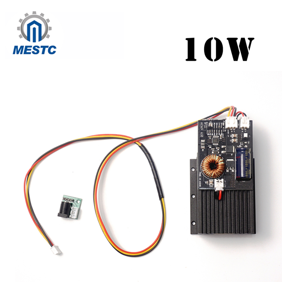 10W laser,High Power Diode Laser Focusable Blue Laser Module 450nm with TTL Driver for laser cutter engraving machine 10000mW 5 5w 450nm blue laser engraving machine cutter without ttl module 5500mw laser diode