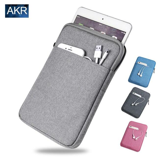 Противоударный Tablet Sleeve чехол Case для ipad mini 2 3 4 ipad Air 2 Pro Крышка толщиной + Экран Пленка AKR 2016 Новый Бесплатный доставка