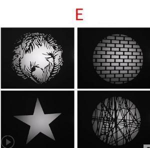 Image 5 - LED הקבל צינור הקרנת סרט גרפי DIY אור צינור צורת הכנס OT1 הקבל עדשה רקע אור אפקט סרט NO00DGT07