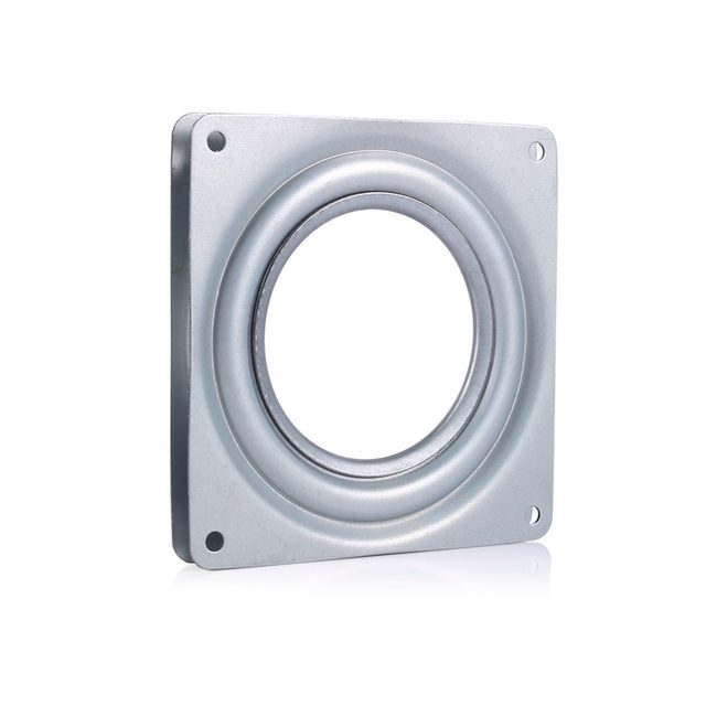 Lazy Susan Square Bearing Swivel Plate Turntable Swivel Plate Bearing Steel  Rotating Swivel Plate Kitchen Cabinets Accessories