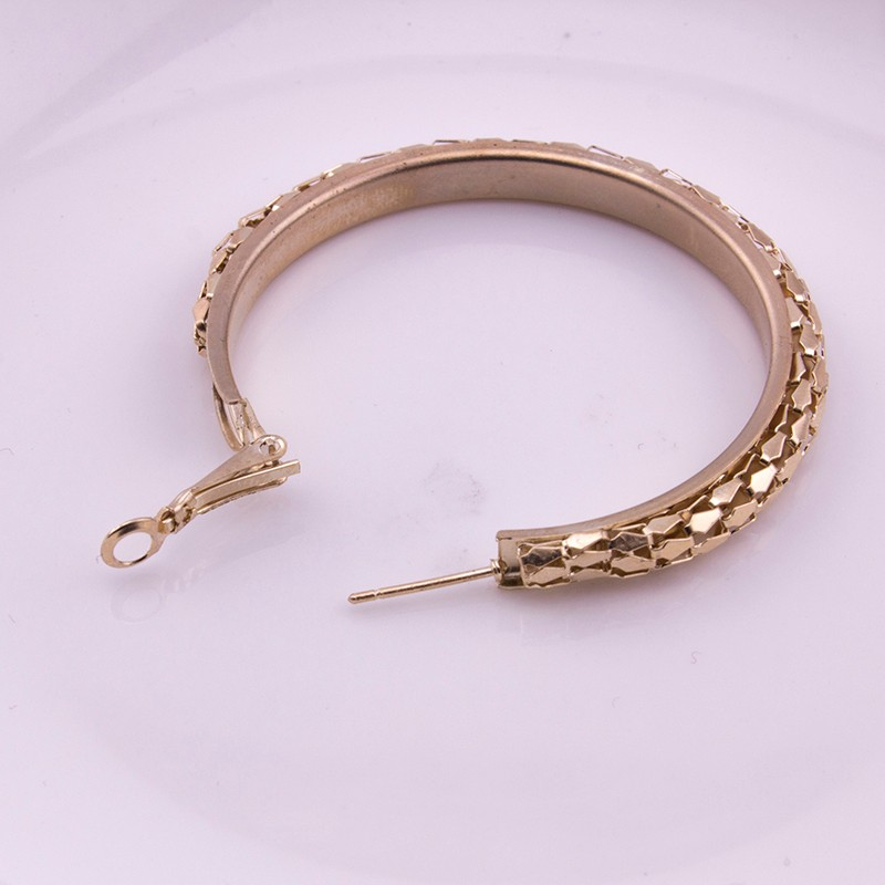 HTB1munROFXXXXc2aXXXq6xXFXXXt - Simple Fashion Style 5CM Big Hoop Earrings Jewellery for Women Metal Alloy Vintage Round Earring