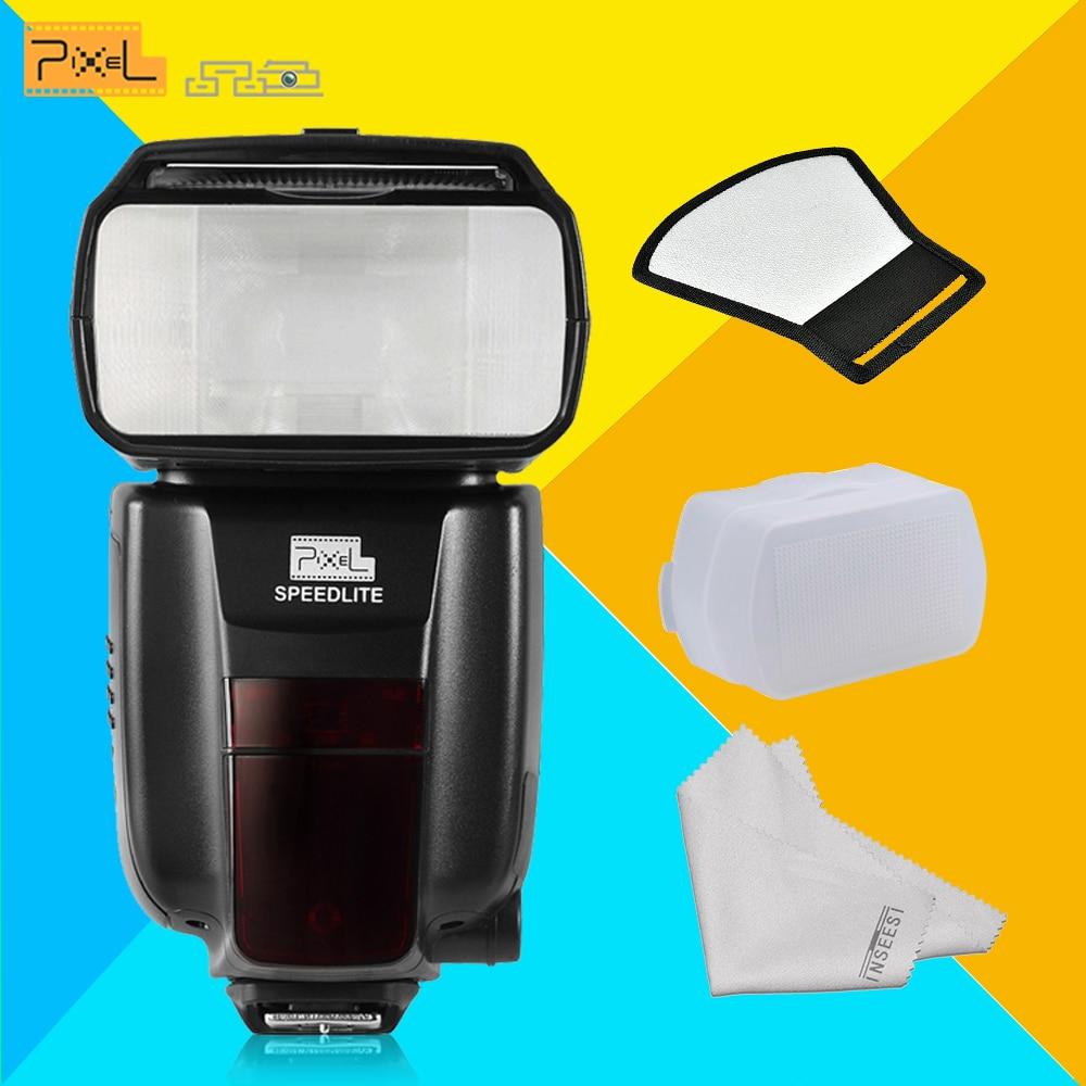 Pixel M8 Wireless Universal Speedlight Flash Light GN60 For Canon Nikon Sony Pentax Fujifilm Lumix DSLR Camera VS JY680A YN560IV