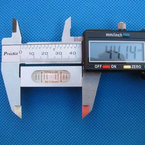Image 5 - Haccury 크기 66*15*14mm 알루미늄 쉘은 장착 구멍이있는 총 스테이션 블리스 터 용 레벨 스피릿 레벨을 제출합니다.