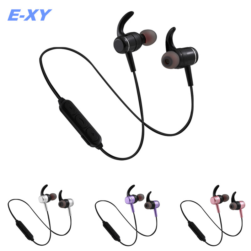 High quality Upgrade Wireless Bluetooth Headset portable Sport stereo Earphone In-ear Ultra-light Running earphone with mic