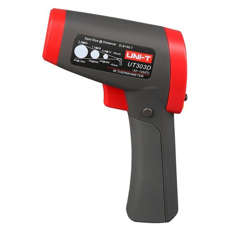 2017 Non Contact Laser Gun IR font b Thermometer b font UNI T UT303D Infrared font