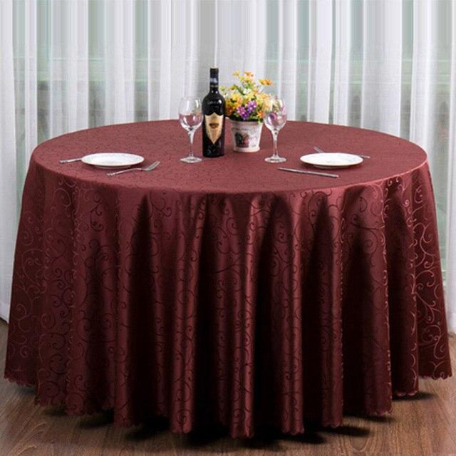 10 pc/lot Luxious Restaurant Table Tissu Pour Table Ronde Café Rouge ...