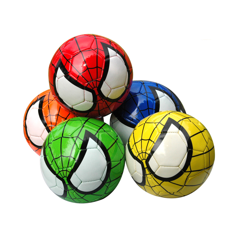 1PC Children Baby Football Spiderman Ball Size 2 Kids Soccer Spider Man Little Ball Kindergarten Football Playball