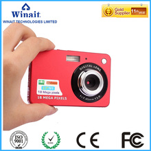 """winait HD18mp digital camera with 2.7"""" TFT display camera digital/4x digital zoom/rechargeable lithium battery free shipping"""