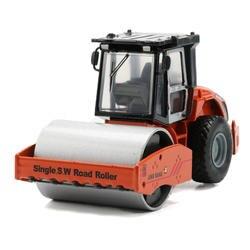 JINGBANG 1: 60 Сплав Имитация один S. w. Дорожный каток сплав модель автомобиля игрушка строительная машина игрушки автомобили