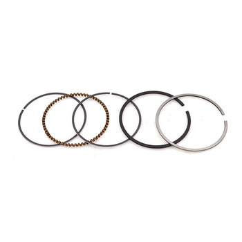 Motorcycle STD Piston Ring Bore 61 mm Size 1.0*1.0*2.0 mm For Honda JH145 JH150 WY145 GL145 CB150 150cc Spare Parts image