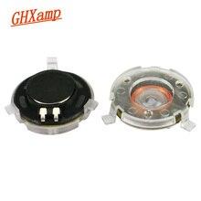 GHXAMP HIFI 14MM טסלה אוזניות רמקול עם פלסטיק כיסוי 32ohm 110DB Neodymium שטוח אוזניות DIY תיקון חלקי 2pcs