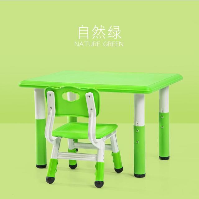 80cm60cm Toddler table and chair set kids furniture 5c64efbdf1499