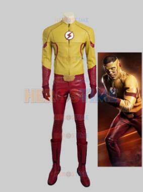 Le plus récent Costume Flash Cosplay Flash 3 enfants
