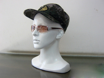 Fashionable New Arrival Gloss White Female Head Mannequin Women Mannequin Head For Sale