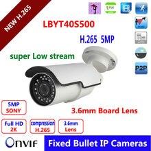 Undertaking 5mp ip digital camera 2592(H)*1944(V) HD out of doors waterproof 5MP POE Three.6mm varifocal HD onvif  surveillance net ip cam