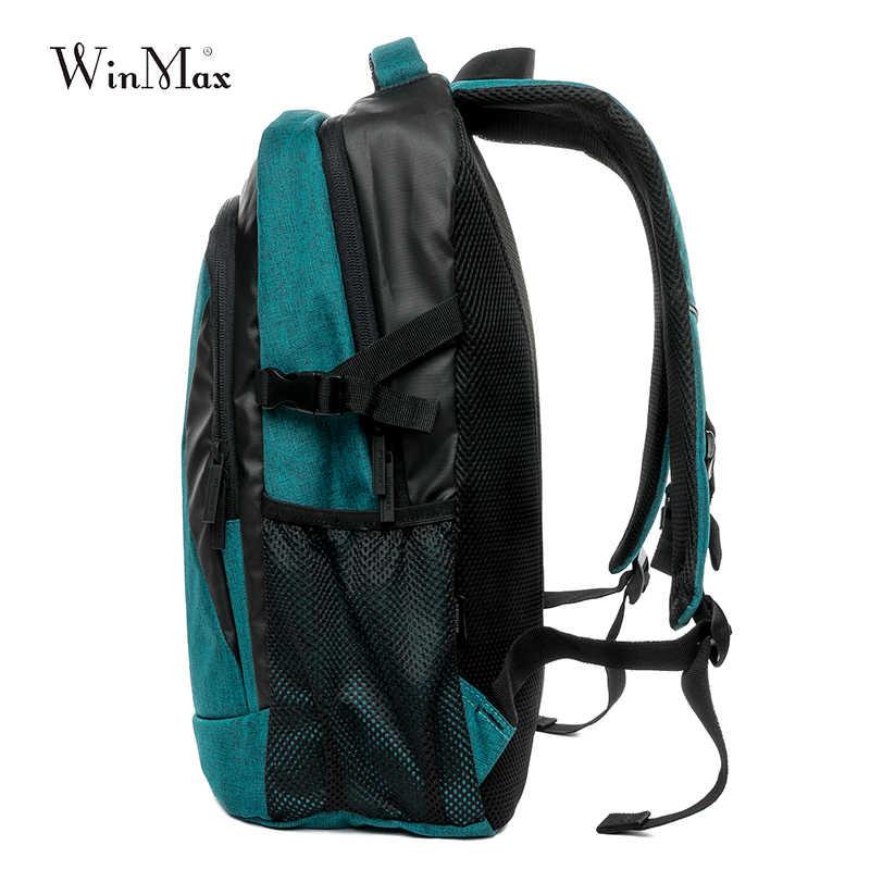 Winmax 30L Outdoor Tas Olahraga Ransel Banyak Kantong Pria Perjalanan Paket Tas Wanita Ransel Camping Hiking Bersepeda Ransel Tas Sekolah