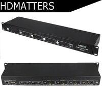 HDMI 2,0 матрица 4X4 с аудио HDCP 2,2 HDMI Matrix 2,0 RS232 управления HDMI 4 в 4 из 4 К X 2 К/30 Гц ИК управления ARC