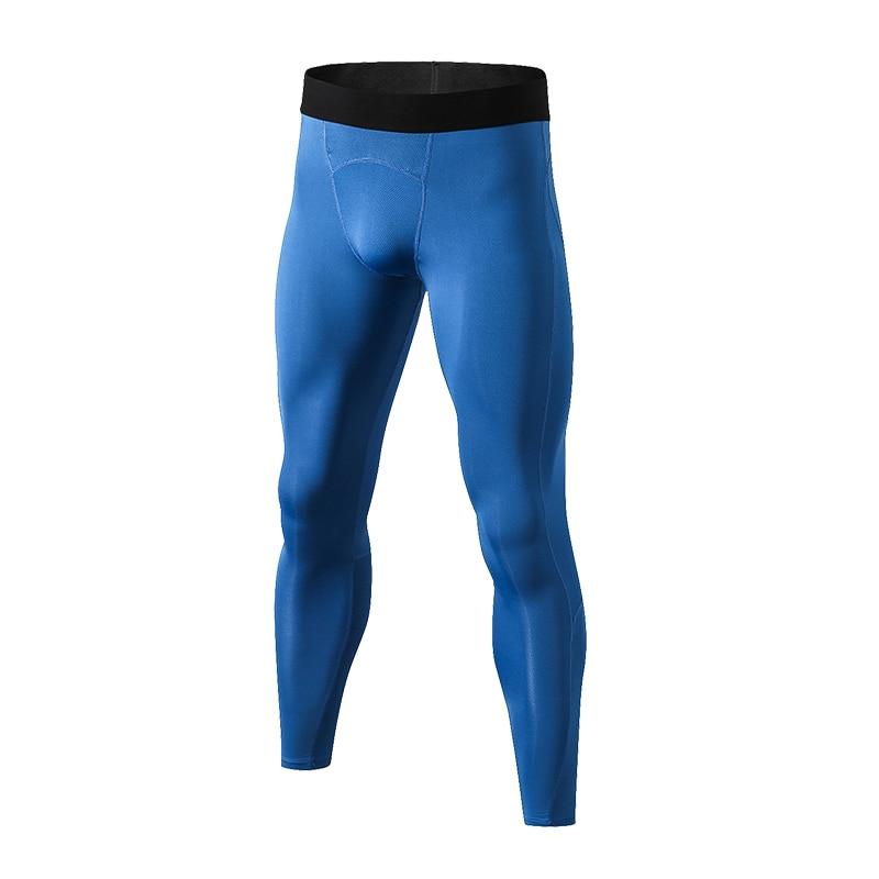 YEL Neue männer Leggings Schnell Trocknend Fitness Engen Sport Hosen Gym Kleidung Laufhose Männer Jogging Compression Sportswear