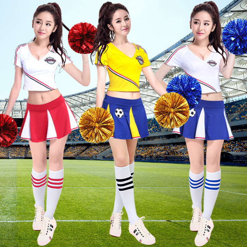Costumes & Accessories Sexy Costumes Djgrster Sexy High School Cheerleader Costume Girl Aerobics Dance Cheer Girls Race Car Driver Uniform Party Tops And Shorts Cool In Summer And Warm In Winter