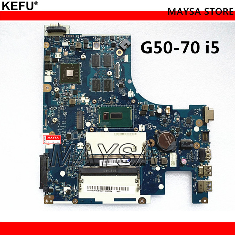 i3 Processor ACLUA/ACLUB NM-A271 Rev1.0 System Board Fit For Lenovo G50-70 Notebook PC Motherboard
