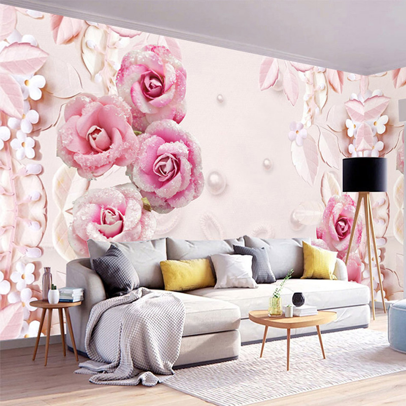 Aliexpress.com : Buy Custom Wallpaper 3D Stereo Romantic