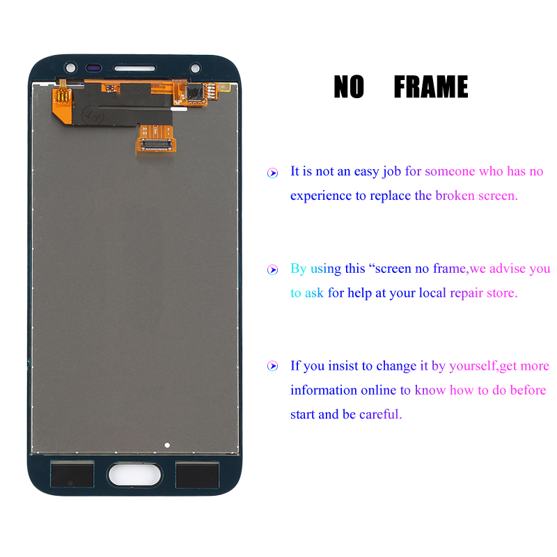 Image 4 - J330 LCD For Samsung Galaxy J3 2017 Replacement LCD Screen J330F SM J330FN LCD Display+Touch Screen Digitizer Assembly Adhesive-in Mobile Phone LCD Screens from Cellphones & Telecommunications