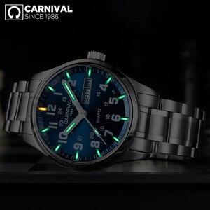 Image 4 - Carnaval T25 Tritiumgas Luminous Quartz Horloge Mannen Militaire Waterdicht Heren Horloges Saffier Kristal Klok relogio masculino