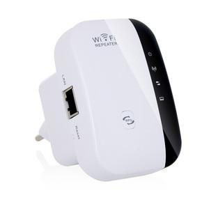 Image 1 - 2,4 ГГц, 300 Мбит/с, Беспроводной Wi Fi роутер, усилитель сигнала, шифрование Wps с вилкой EU/US/UK/AU