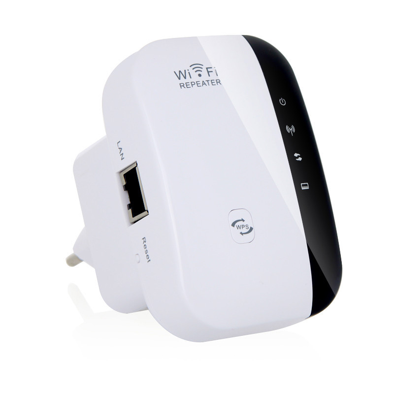 2.4Ghz 300Mbps Wireless N Wifi Router Extender Repeater Signal Booster Wps Encryption with EU/US/UK/AU Plug-in Wireless Routers from Computer & Office
