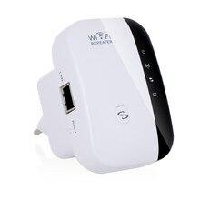 Беспроводной Wi Fi роутер 2,4 ГГц 300 Мбит/с, удлинитель ретранслятора, усилитель сигнала, Wps шифрование с вилкой EU/US/UK/AU