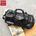 UIYI Мужская модная повседневная сумка-тоут сумка из искусственной кожи сумка для фитнеса сумка на плечо сумка высокого качества сумка для ба...