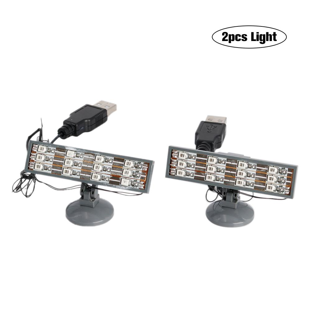 2PCS LED Light Up Kit (only Light Included) Compatible For Lego Lighting Brick Blocks