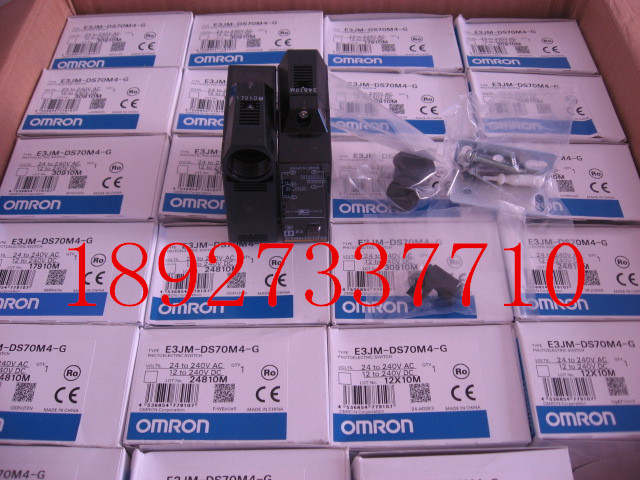 [ZOB] New original OMRON Omron photoelectric switch E3JM-DS70M4-G  --2PCS/LOT [zob] 100% new original omron omron photoelectric switch ee spy301 5pcs lot