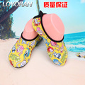 new 2017 Unisex Child Barefoot Kids Water Skin Shoes Flexible Breathable for Beach Swim Surf Exercise Running Shoes