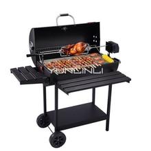 Открытый уголь барбекю гриль барбекю печь для более 5 человек открытый барбекю устройства
