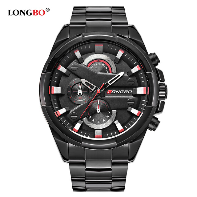 LONGBO 2018 Fashion Military Men Wristwatch Luxury Casual St