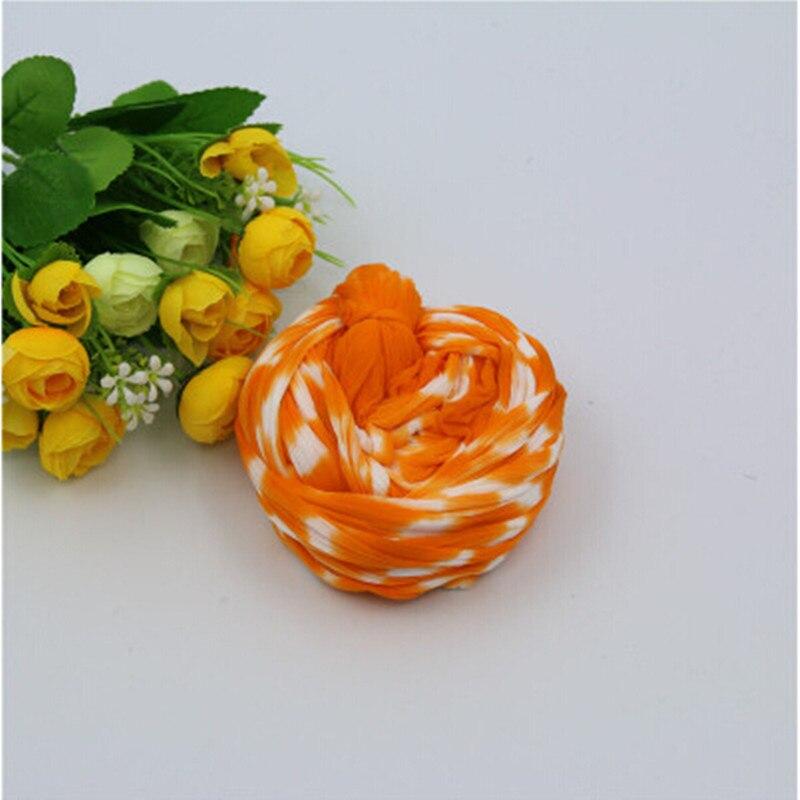 tweekleurig nylon bloem materiaal kous bloem materiaal maken interieur zijden bloemen groothandel decoratie krans accessoires in tweekleurig nylon bloem