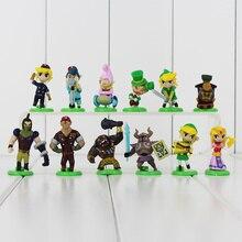 New 12pcs/lot The Legend of Zelda Furuta Choco Egg Gashapon PVC Action Figure Collection Model Toys Doll