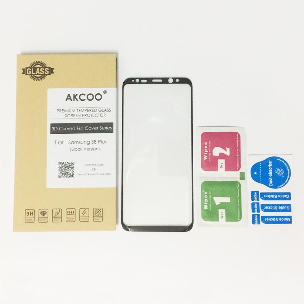 Akcoo New 3D Curved Full Cover Tempered Glass Screen Protector for - Ανταλλακτικά και αξεσουάρ κινητών τηλεφώνων - Φωτογραφία 5