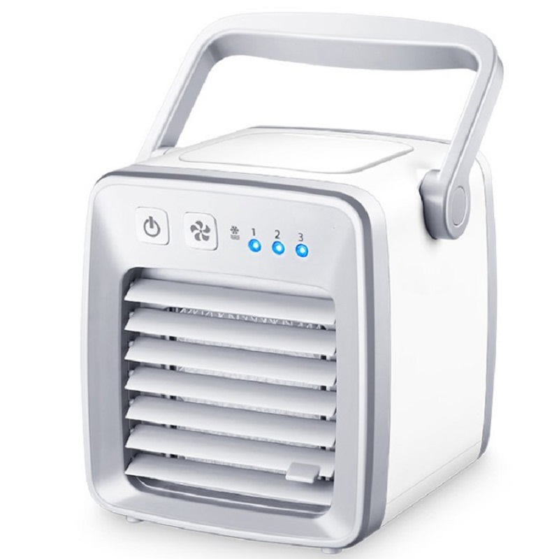 New USB Portable Mini Air Conditioner Fan Space Cooler 3 Level Wind Speed 350ml Water Cooler Air Cooling Device Desk Fan new premium air cooler