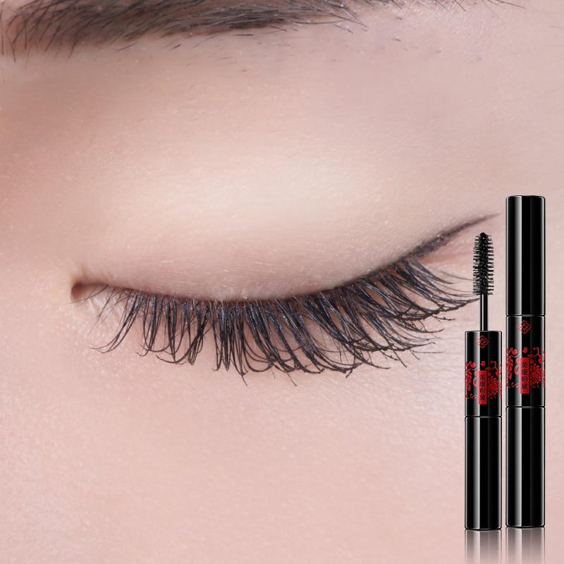 MEIKING Makeup Mascara Long Black Lash Mascara Volume Lengthening Twisting Eyelashes Extension Quick Dry Waterproof Cosmetics 3D
