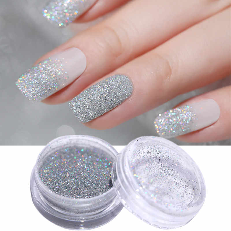 Detail Feedback Questions about 1g Holographic Sugar Nail Glitter ...