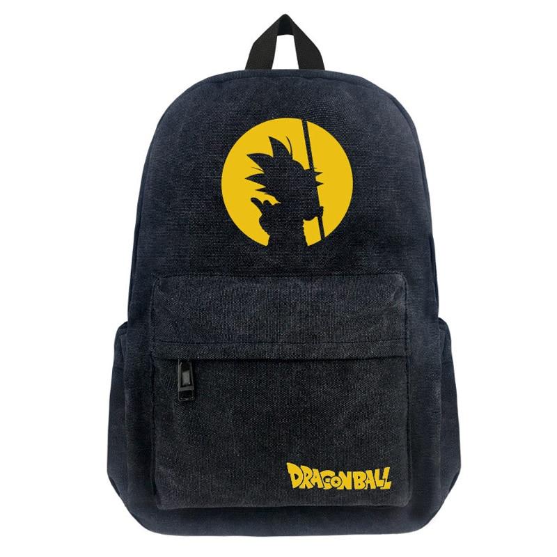 Dragon Ball Z Backpack Large Capacity Cosplay Goku Crystal Ball School Shouler Bag Dragonball Rucksack Mochila Daypack Backpacks
