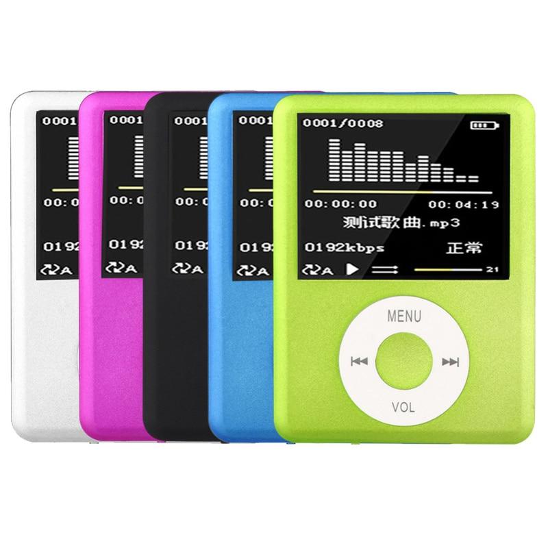 Ssdfly Hohe Qualität Mp4 Mit Kopfhörer 1,8 Zoll Bildschirm Lcd Media Video Spiel Film Fm Radio 3th Generation Mp4 Musik Player Tragbares Audio & Video