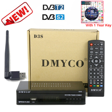 1 Year Europe Server HD DVB-S2 dvb t2 Satellite Receiver Full 1080P Italy Spain Arabic TV box With USB Wifi Receptor 1 year europe cccam server hd kii pro dvb t2 dvb t2 tuner android tv box full 1080p italy spain arabic cccam cline media player
