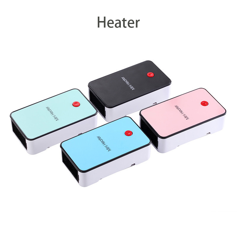 Creative Mini Desktop Electric Heaters PTC ceramic heating Overheat Protection Warm hand Heater For Home Office Dormitory warm air heater heating appliance home bathroom energy saving office desktop mini electric