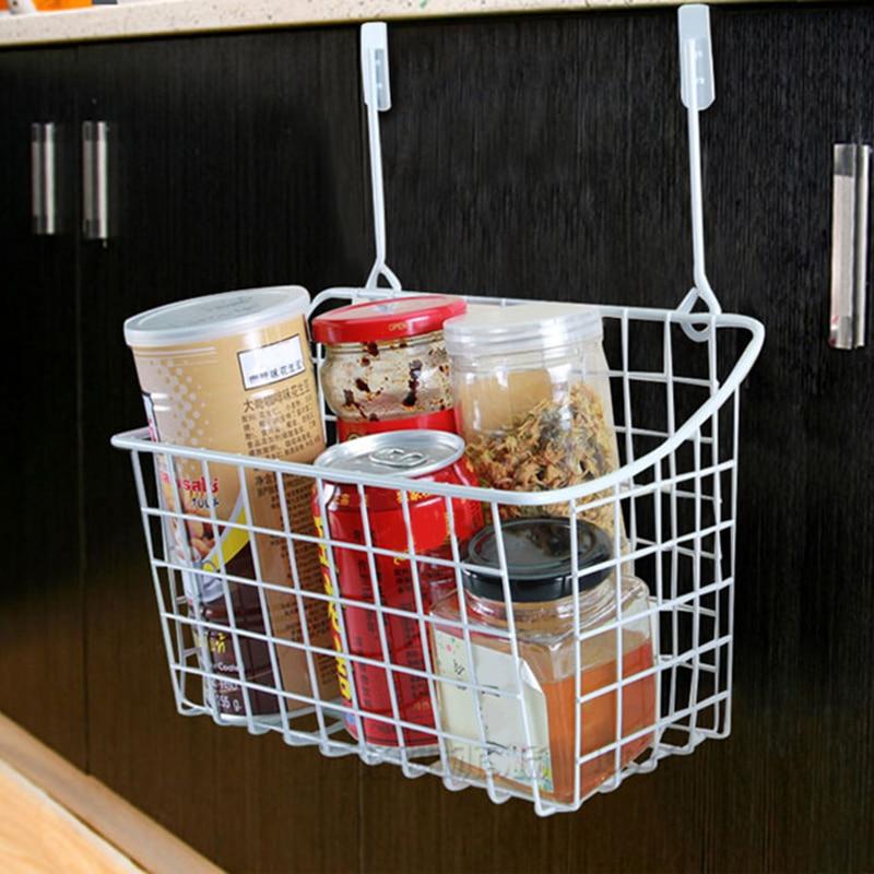 BLEL Hot Door Storage Basket Practical Kitchen Cabinet Drawer Organizer Door Hanger Storage Basket With The Hook цена 2017