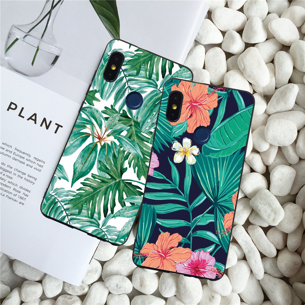 Ball Grain Matte Soft Cases For Xiaomi Redmi Note 5 5A Note 5 Pro 5A Pro Luxury Flamingo Leaves Cat Fish Cover For Note 5 5A Pro